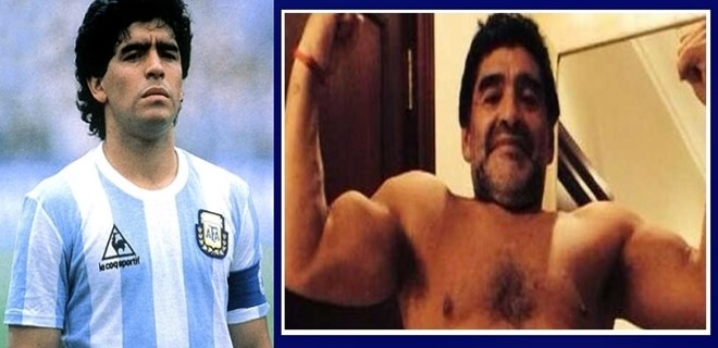 Efsane Maradona son haliyle şaşırttı!..