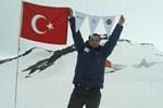 Antartika'da bir İzmirli!..
