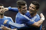 Ronaldo ve Bale Parken'de sahada