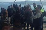 Boğaziçi Köprüsü'nde 16 kadın gözaltına alındı!..