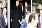 Cumhurbaşkanı Erdoğan oğlu ve torunuyla alışveriş yaptı