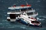 Deniz otobüsü ile feribot çarpıştı!..