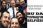 Kadir Topbaş'tan 'Selfie'li zafer sevinci