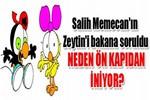 Salih Memecan'ın Zeytin'i bakana soruldu!..