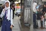 Tesettürlü ralliciden sokak çocuklarına jest