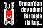 Beşiktaş'tan bir taşla iki kuş!