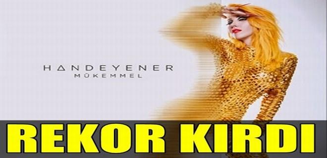 Hande Yener'den 'Mükemmel' bir albüm!…