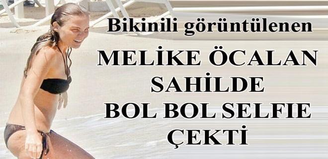 Melike Öcalan bikinili görüntülendi