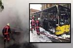 İstanbul'da halk otobüsüne molotof!...