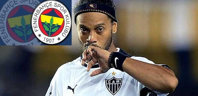 Ronaldinho, Fenerbahçe'ye mi geliyor?