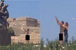 Kıbrıs'ta 'çıplak vatandaş' şoku!...