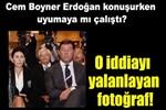 Cumhurbaşkanı konuşurken Cem Boyner uyudu mu?..