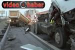 TEM'i felç eden trafik kazası!