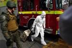 Şili'de lokantaya bombalı saldırı!
