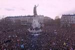 Paris'te 1,5 milyon kişi yürüdü!