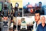 Denizli'de cinayet isyanını komando bastırdı!