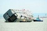 Yan yatan gemide 1400 lüks otomobil!
