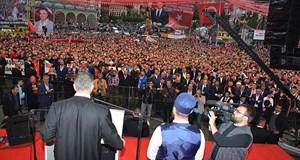 Rize'de Sedat Peker izdihamı