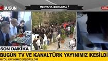 Bugün TV ve Kanaltürk yayınları kesildi