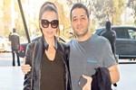 Ebru Akel ve eşinin festival keyfi