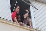 Aydın'da öğrenci evinde yangın çıktı!...