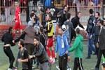 Karagümrük'te rakip futbolculara bıçaklı saldırı!..
