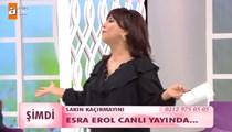 Esra Erol canlı yayına bağlandı