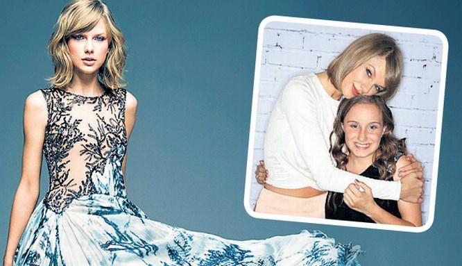 Taylor Swift küçük hayranını kırmadı