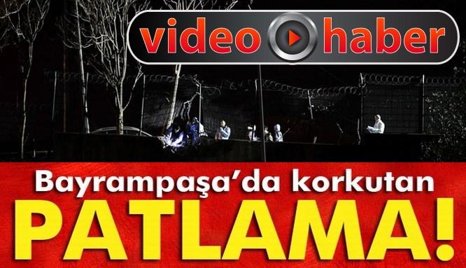 İstanbul Bayrampaşa'da korkutan patlama!