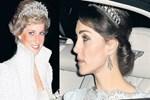 Kate Middleton Lady Di'nin tacını taktı