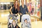 Aslı Tandoğan ve Lale Cangal'ın bebek gezmesi