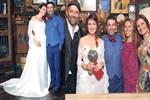 Ceyda Düvenci ve Bülent Şakrak'ın şen şakrak nikahı