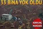 Çin'de feci toprak kayması: 91 kişi kayıp