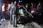 Feci trafik kazasında bir aile yok oldu!..