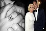 Lady Gaga yüzüğü taktı!..