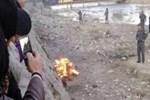 Kuran'ı yakan kadını linç edip yaktılar!
