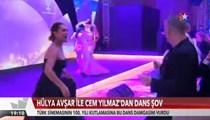 Hülya Avşar ve Cem Yılmaz'dan dans şov