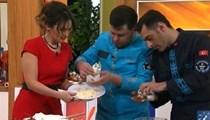 Aşçı TRT yayınında rezil oldu!