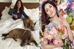 Ünlü aktris evinde 50 hayvan besliyor!