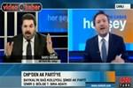 CNN Türk canlı yayınında tansiyon fena yükseldi!..