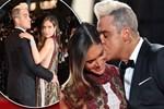 Robbie Williams'ın konuşulan öpücüğü