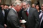Prens Charles'tan tarihi görüşme