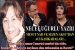 Necef Uğurlu Yazdı: 'Mesut Yar ve Sezen Aksu'dan acı kahkahalar'