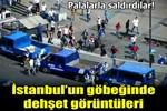 Eminönü'nde zabıtalara palalı saldırı!