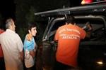 Dağda mahsur kalan liseli gençler kurtarıldı!
