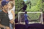Küçük Beckham babasının izinde!..