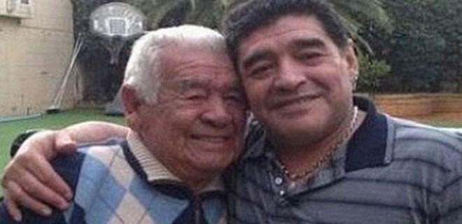 Maradona'nın baba acısı