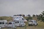 Kapadokya'da korkutan balon kazası!..