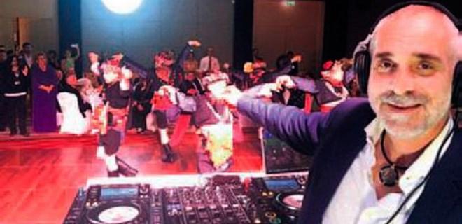 Ünlü DJ çaldı, onlar oynadı