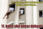 Antalya'da 11. kat dehşeti!..